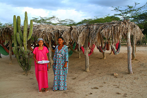 But now it is not just their territory that the wayuu people are