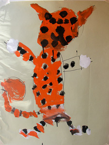Art 4 Kids Tiger