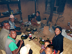 A family of eight can now cook and eat in a pollution-free environment.